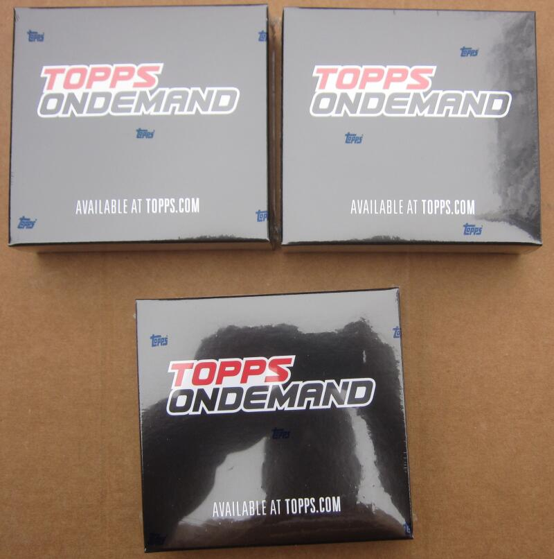 2020 Topps Mini lot of 3 Box Pack Sealed On Demand Luis Robert
