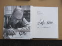 Ennio Morricone signed Book Life Notes 1st Printing Legendary Oscar Composer