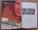 Oliver Stone signed book The Putin Interviews Showtime Documentary Film Autographed