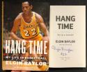 Elgin Baylor Signed Book Hang Time: My Life in Basketball BAS Beckett COA