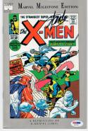 Stan Lee signed Comic Book X-Men Reprinting #1 1963  PSA/DNA