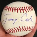 President Jimmy Carter Signed Baseball signed JIMMY PSA/DNA