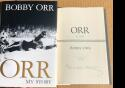 Bobby Orr signed Book Orr My Story 1st Printing Bruins PSA/DNA Authenticated