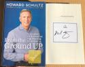 Howard Schultz Starbucks CEO and Presidential candidate signed book From The Ground Up
