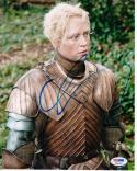 Gwendoline Christie Brienne of Tarth Game of Thrones signed 8x10 photo PSA/DNA Authentic