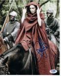 Carice Van Houten Melisandre Game of Thrones signed 8x10 photo PSA/DNA Authentic