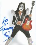 Ace Frehley KISS signed 8x10 Color photo PSA/DNA autograph