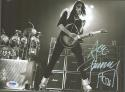 Ace Frehley KISS signed 8x10 B&W photo PSA/DNA autograph