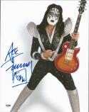 Ace Frehley KISS signed 11x14 color photo PSA/DNA autograph
