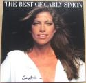 Carly Simon signed LP Album Cover The Best of Carly Simon BAS Beckett auto