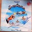 The Kinks 2x signed LP Album Cover Soap Opera Beckett BAS Dave Ray Davies