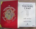 Kobe Bryant Signed Book Wizarding Training Camp Beckett BAS Authentic auto