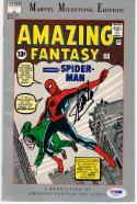 Stan Lee signed Comic Book Amazing Fantasy #15 1962 Reprint PSA/DNA autographed