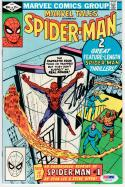 Stan Lee signed Comic Book Amazing Spider-Man #138 #1 Reprint PSA/DNA auto