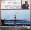 Tony Bennett signed LP Album Cover I Left My Heart In San Francisco PSA/DNA