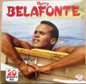 Harry Belafonte King of Calypso signed Album 20 Greatest Hits  PSA/DNA autographed
