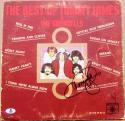 Tommy James signed Best of Album Cover Best of Tommy James Shondells Beckett BAS