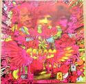 Ginger Baker signed Cream LP Album Cover Disraeli Gears Beckett BAS Authentic Auto