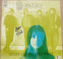 Grace Slick signed Great Society LP Album Cover Conspicuous Only In Its Absence Beckett BAS