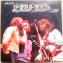 Barry Gibb signed Bee Gees LP Album Cover Here at Last Live PSA/DNA auto