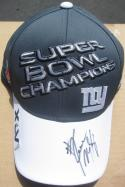 Kareem McKenzie signed Giants Super Bowl XLVI 46 Champions Locker Room Hat Cap