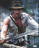 Harrison Ford Indiana Jones signed 11x14 photo BAS Beckett Auto
