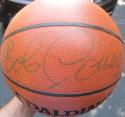 Bob Cousy Celtics single signed NBA I/O Basketball Ball PSA/DNA auto