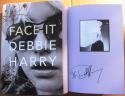 Debbie Harry Blondie lead singer signed Book Face It 1st Printing Rock HOF