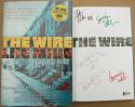 The Wire HBO Series 5x Signed Book David Simon Dominic West Idris Elba Sohn BAS
