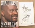Shaquille O'Neal Signed Book Shaq Uncut BAS Beckett COA 1st Printing