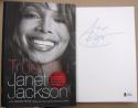 Janet Jackson signed book True You 1st Print Beckett BAS Authentic auto