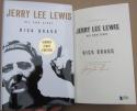 Jerry Lee Lewis signed book His Own Story 1st Print Beckett BAS Authentic auto