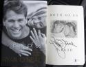 Ryan O'Neal Signed Book Both of Us Farrah Fawcet 1st Print Beckett BAS