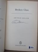 Arthur Miller Pulitzer Prize Signed Book Broken Glass Beckett BAS Letter