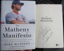 Matt Matheny signed Book Matheny Manifesto 1st Print BAS Beckett