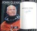 John Glenn signed Book A Memoir Senator Mercury Astronaut Beckett BAS