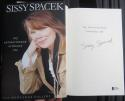 Sissy Spacek signed Book My Extraordinary Ordinary Life 1st Print Beckett BAS