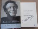 Christopher Plummer signed Book In Spite of Myself 1st Print Beckett BAS