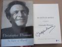 Christopher Plummer signed Book In Spite of Myself 1st Print Beckett BAS
