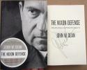 John Dean signed book The Nixon Defense Watergate Richard Nixon 1st Print