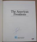 Jimmy Carter signed book The American President PSA/DNA autographed