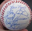 1986 Mets team signed MLB Baseball  33 Autos Ball Beckett BAS Authen Gary Carter