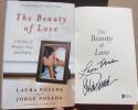 Jorge Posada Yankees signed Book The Beauty of Love 1st Print BAS Beckett auto