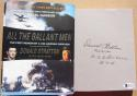 Donald Stratton signed book All the Gallant Men WWII Arizona Pearl Harbor BAS