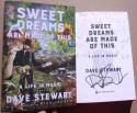 Dave Stewart Eurythmics Guitarist signed Book Sweet Dreams 1st Printing