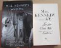 Clint Hill signed book Mrs. Kennedy and Me Jackie JFK Secret Service