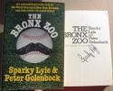 Sparky Lyle signed Book The Bronx Zoo Yankees Cy Young Winner