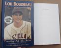 Lou Boudreau signed Book Covering all the Bases Indians HOF Legend 1st Print