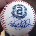 Derek Jeter Yankees signed #2 Retirement Commemorative MLB Baseball PSA/DNA auto
