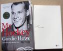 Gordie Howe signed Book Mr Hockey My Story 1st Print Beckett BAS Authentic